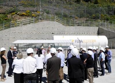 El cap de Govern visita la central de cogeneració de FEDA Ecoterm