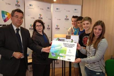 El Col·legi Sant Ermengol, guanyador del concurs escolar d'energies renovables