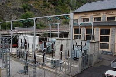 El consum elèctric d'Andorra baixa un 1,9% l'any 2013