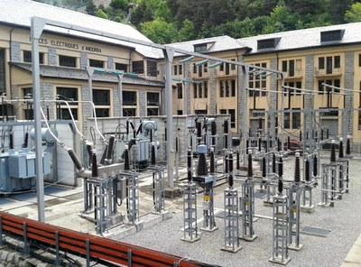 El consum elèctric d'Andorra baixa un 2,8% l'any 2014