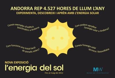 """El Museu de l'Electricitat MW estrena la seva nova exposició """"L'Energia del Sol"""""""