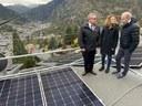 Es posa en funcionament la primera instal·lació fotovoltaica que funciona amb autoconsum