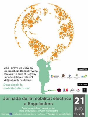 FEDA celebra dissabte la Jornada  de la mobilitat Elèctrica amb un programa d'activitats a Engolasters