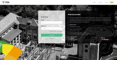FEDA estrena un portal digital per registrar els seus proveïdors