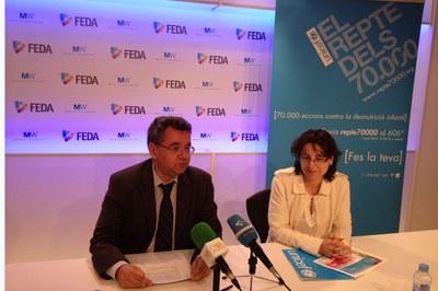 FEDA et convida a participar al Repte 70.000 d'UNICEF