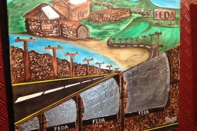 FEDA exposa les obres del darrer Art Camp a Ordino