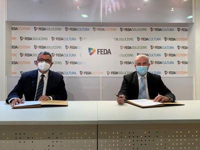 FEDA i la Federació de Caça i Pesca signen un conveni per a la repoblació de truites als llacs del país