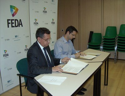 FEDA oferirà pràctiques formatives als alumnes de la Salle i els cedirà material usat