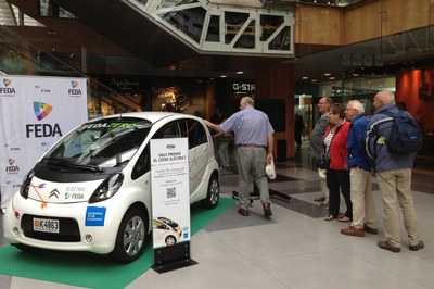 FEDA organitza unes jornades obertes al públic per provar el cotxe elèctric