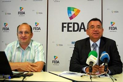 FEDA renova el certificat de seguretat laboral i vol millorar l'accés en cotxe a la seva seu