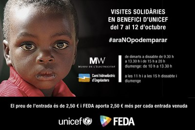 FEDA se suma a la campanya  #araNOpodemparar d'Unicef Andorra