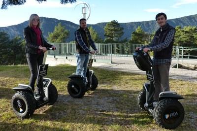 FEDA signa un acord amb Volta'l Andorra Segway per promoure accions sostenibles