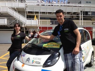 L'equip FEDA ZERO-e torna amb un triomf de l'EcoRallyRACC