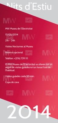 L'MW Museu de l'Electricitat obsequiarà els primers visitants el Dia dels museus