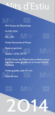 L'MW Museu de l'Electricitat oferirà visites guiades nocturnes aquest dijous