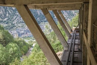 La xarxa de calor de FEDA a Andorra la Vella pot arribar a alimentar una trentena d'edificis abans de finals d'any