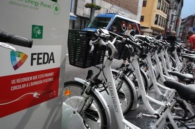 Pedaland qualifica d'èxit la prova pilot del servei de lloguer de bicicletes elèctriques