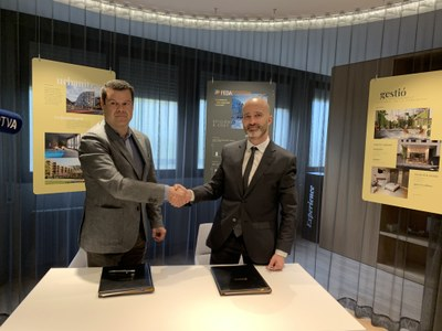 The White Angel Andorra esdevé el primer client privat que es connecta a la xarxa de calor de FEDA Ecoterm d'Andorra la Vella