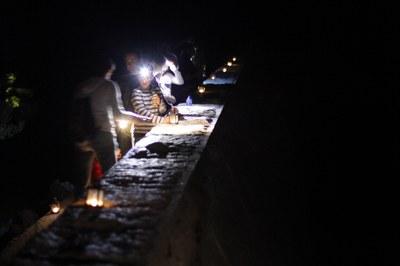 Tornen les visites nocturnes de FEDA i el Museu MW al Camí Hidroelèctric d'Engolasters