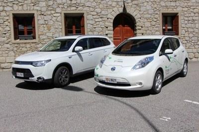 Un altre cotxe elèctric i un d'híbrid endollable, a la flota de FEDA