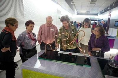 Un grup de l'Aula Magna, al Museu de l'Electricitat MW